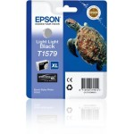 EPSON C13T15794010 CARTUCCIA K3 T1579 TARTARUGA NERO LIGHT