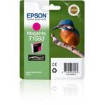 EPSON C13T15934010 CARTUCCIA HI-GLOSS2 T1593 MARTIN PESCATORE MAGENTA