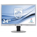 PHILIPS 241B4LPYCS/00 24 LED WIDE 1920X1080 5MS DVI MULTIM PIVOT VGA