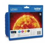 BROTHER LC980VALBP KIT 4 CARTUCCE COLORE BLISTER