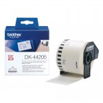 BROTHER DK44205 NASTRO ADES CARTA NERO BIANCO 62MM