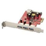 LINDY LINDY51121 SCHEDA USB 3.0 3+1 PCIE