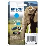 EPSON C13T24324012 CARTUCCIA CLARIA PHOTO HD24XL ELEFANTE  87ML CIANO