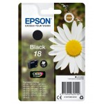 EPSON C13T18014012 CARTUCCIA CLARIA  HOME 18 MARGHERITA  52 ML NERO