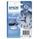 EPSON C13T27054012 MULTIPACK 3 CARTUCCE 27 SVEGLIA