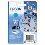 EPSON C13T27024012 CARTUCCIA ULTRA 27 SVEGLIA 36 ML CIANO