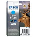 EPSON C13T13024012 CARTUCCIA ULTRA T1302 CERVO  101 ML XL CIANO