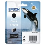 EPSON C13T76014010 CARTUCCIA HD T7601 ORCA  259 ML NERO PHOTO