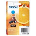 EPSON C13T33424012 CARTUCCIA CLARIA PREMIUM 33 ARANCE CIANO STANDARD