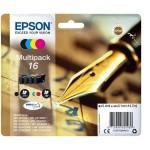EPSON C13T16264012 MULTIPACK 4 CARTUCCE 16 PENNA E CRUCIVERBA