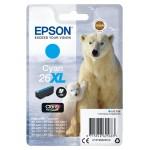EPSON C13T26324012 CARTUCCIA CLARIA  PREMIUM 26XL ORSO POLARE CIANO