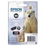 EPSON C13T26114012 CARTUCCIA CLARIA PREMIUM 26 ORSO POLARE NERO PHOTO