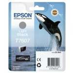 EPSON C13T76074010 CARTUCCIA HD T7607 ORCA  259 ML NERO LIGHT