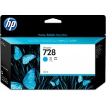 HP INC. F9J67A HP 728 130-ML CYAN INK CRTG