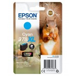 EPSON C13T37924010 SINGLEPACK CYAN378XL CLARIA PHOTO HD INK SCOIATTOL