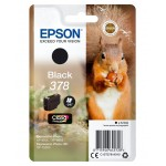 EPSON C13T37814010 SINGLEPACK BLACK378 CLARIA PHOTO HD INK SCOIATTOLO