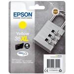 EPSON C13T35944010 CARTUCCE INK DURABRITE ULTRA 35XL LUCCHETTO GIALLO