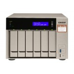 QNAP TVS-673E-4G QNAP TURBO NAS 6 BAIE AMD RX-421BD QC 2.5 3.5 4GB