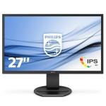 PHILIPS 272B8QJEB/00 27 -2560X1440-VGA-DVI-DISPLAYPORT-HDMI-USBX2