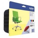 BROTHER LC229XLVALBP KIT 4 CARTUCCE COLORE IMBALLO BLISTER