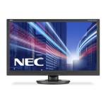 NEC 60003810 NEC ACCUSYNC AS242W BLACK