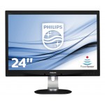 PHILIPS 240B4QPYEB/00 24 LED 16 10 1920X1200 DVI VGA REG IN H MULTIM