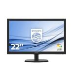 PHILIPS 223V5LHSB2/00 21.5 LED 1920X1080 16 9 200CD M2 5MS HDMI VGA
