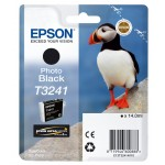 EPSON C13T32414010 CARTUCCIA HI-GLOSS2 T3241 PUFFIN  140 ML NERO