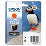 EPSON C13T32494010 CARTUCCIA HI-GLOSS2 T3249 PUFFIN  140 ML ARANCIONE