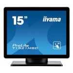 IIYAMA T1521MSC-B1 15  PCAP BEZEL FREE FRONT  10P TOUCH  1024X768