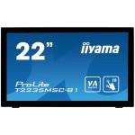 IIYAMA T2235MSC-B1 21 5  PCAP  BEZEL FREE 10P TOUCH SCREEN  1920X1080