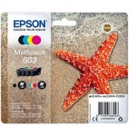 EPSON C13T03U64010 MULTIPACK 4-COLOURS 603 INK STELLA MARINA