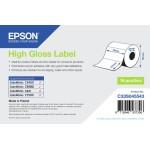 EPSON POS C33S045543 ROTOLO DI ETICHETTE HIGH GLOSS 127X76MM.250 ETICH