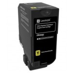 LEXMARK 74C2SY0 CS720  CS725  CX725 TONER RETURN GIALLO 7K