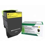 LEXMARK 71B2HY0 TONER CS/CX4/517 RETURN YELLOW (3.5K )