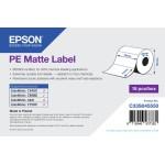 EPSON POS C33S045550 PE MATTE LABEL-DIE-CUT ROLL 76MM X 51MM 535 LABELS