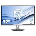PHILIPS 328B6QJEB/00 32  LED IPS 2560 X 1440. 16 9 ULTRA HD