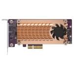 QNAP QM2-2S-220A DUAL M.2 22110/2280 SATA SSD CARD (PCIE GEN2 X2)