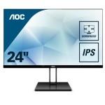 AOC 24V2Q 23.8  16 9 1920X1080 75HZ 250CD/M HDMI DISPLAYPORT
