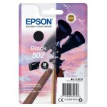 EPSON C13T02V14010 CARTUCCE INK 502 BINOCOLO 1X4.6ML NERO