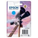 EPSON C13T02V24010 CARTUCCE INK 502 BINOCOLO 1X3.3ML CIANO
