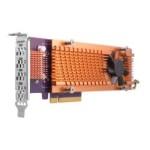 QNAP QM2-4P-284 QUAD M.2 2280 PCIE SSD EXPANSION CARD PCIE GEN2 X8