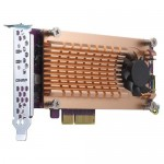 QNAP QM2-2P-344 DUAL M.2 2280/22110 PCIE SSD CARD (PCIE GEN3 X4)