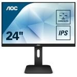 AOC X24P1. 24 16 10 1920X1200 60HZ VGA/DVI/HDMI/DP NERO