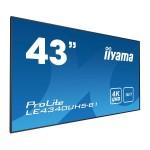 IIYAMA LE4340UHS-B1 43  3840 X 2160, 4K