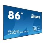 IIYAMA LE8640UHS-B1 86  3840 X 2160, 4K UHD IPS PANEL