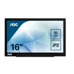 AOC I1601FWUX 15.6 1920X1080 60HZ IPS 220CD/M2 16 9