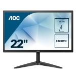 AOC 22B1HS 21.5  16 9 1920X1080 60HZ 250 LUMINOSIT  VGA HDMI