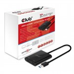 CLUB3D CSV-1474 USB A 3.1 GEN 1 HDMI 2.0  DUAL MONITOR