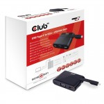 CLUB3D CSV-1532 MINI USB 3.0 TYPE C DOCKING STATION